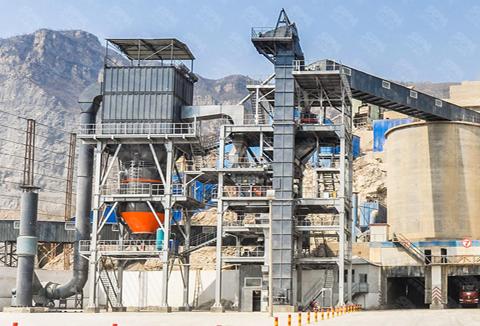 VU干法砂石骨料生产线成套设备