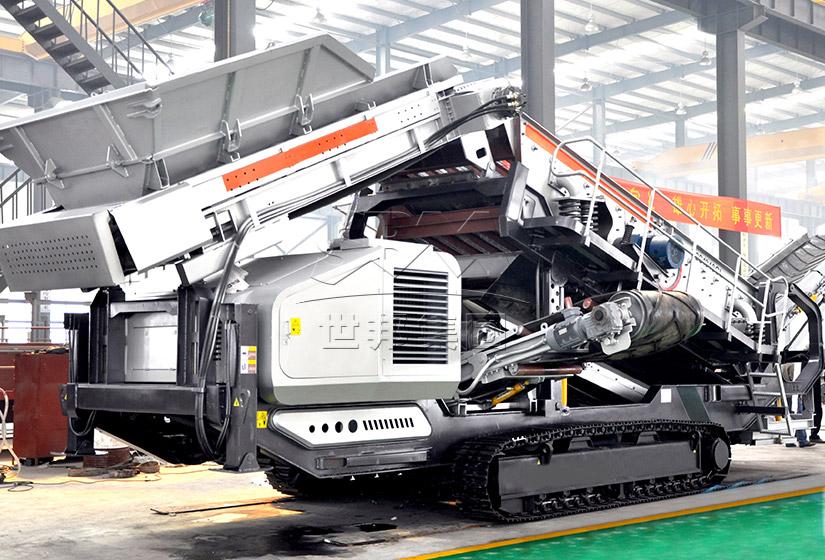 履带式移动破碎站|履带移动式破碎机|履带式破碎站设备供应商