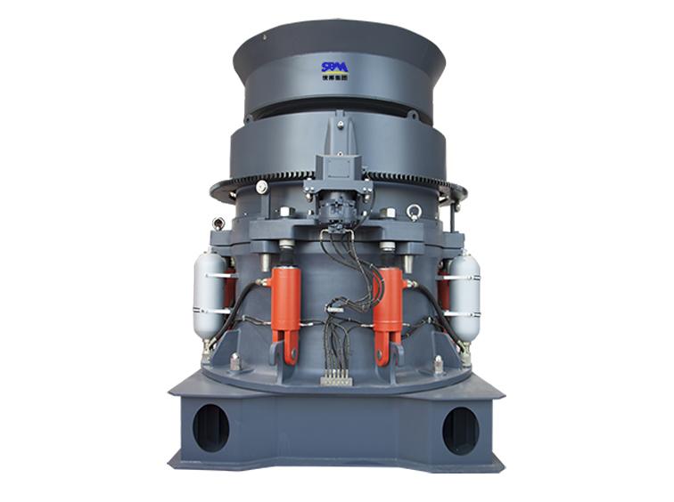 HPT多缸液压圆锥破碎机更高的破碎比,更大处理能力,更好的粒级粒型