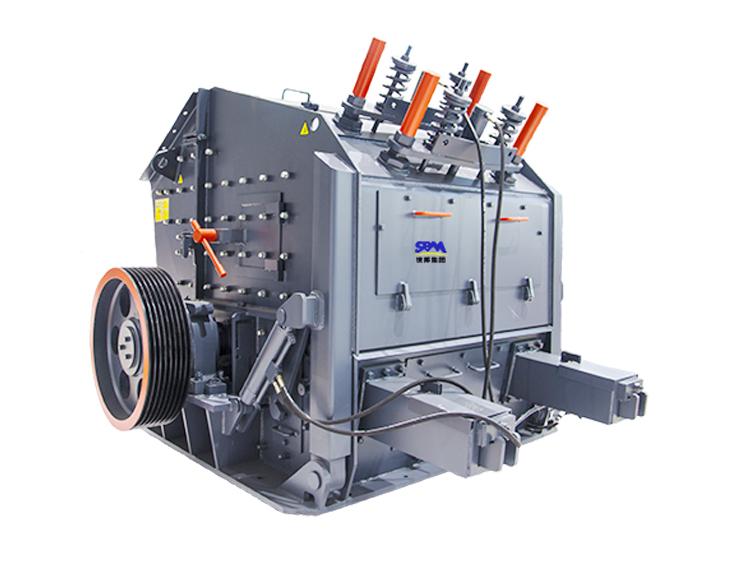 PFW欧版反击式破碎机出料粒型好、持久耐用广泛应用于各种矿石破碎