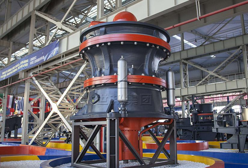 HST单缸液压圆锥破碎机更大处理能力,更安全智能,成就更高效圆锥破