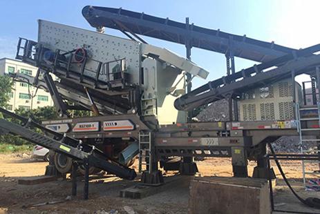 时产200吨建筑废弃物移动破碎生产线|建筑垃圾移动破碎站|上海建筑垃圾粉碎机价格