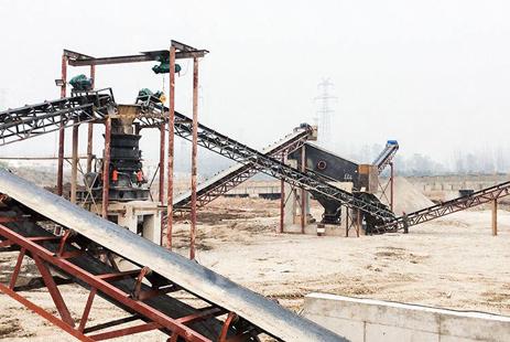 辽宁年产1400万吨铁矿石破碎生产线