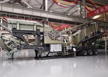 移动式石料破碎生产线|移动式制砂机生产线|移动式碎石加工设备