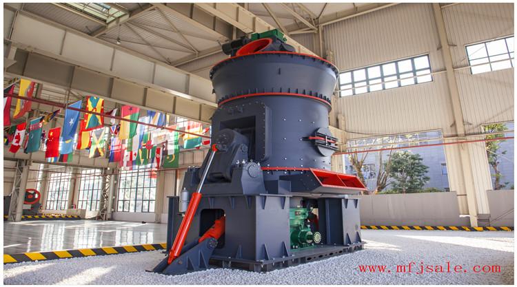 氧化铁绿立式磨粉机设备的几大特殊优势